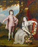 George Capel, Viscount Malden (1757–1839), and Lady Elizabeth Capel (1755–1834)