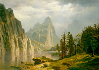 Albert Bierstadt: Merced River, Yosemite Valley