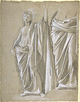 Study of a Draped Figure