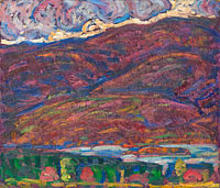 Marsden Hartley: Autumn Color