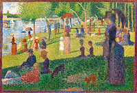 Georges Seurat: Study for A Sunday on La Grande Jatte (1)
