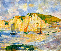 Pierre-Auguste Renoir: Sea and Cliffs