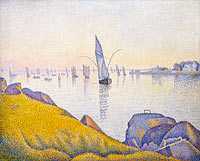Paul Signac: Evening Calm, Concarneau, Opus 220 (Allegro Maestoso)