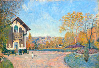 Alfred Sisley: View of Marly-le-Roi from Coeur-Volant
