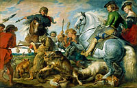 Peter Paul Rubens: Wolf and Fox Hunt
