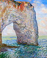 Клод Моне: The Manneporte near Étretat