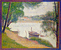 Georges Seurat: Gray Weather, Grande Jatte