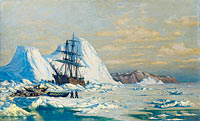 William Bradford: An Incident of Whaling