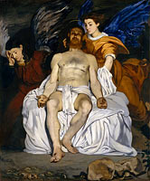Édouard Manet: The Dead Christ with Angels