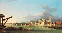 Samuel Scott: The Building of Westminster Bridge