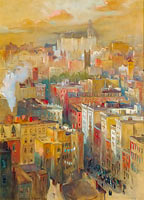 Colin Campbell Cooper: View of New York City