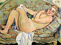 Suzanne Valadon: Reclining Nude