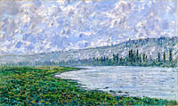 Claude Monet: The Seine at Vétheuil