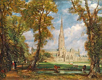 John Constable: Salisbury Cathedral from the Bishop's Grounds