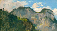 Gilles-François-Joseph Closson: View in the Dolomites
