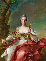 Jean-Marc Nattier: Madame de Maison-Rouge as Diana