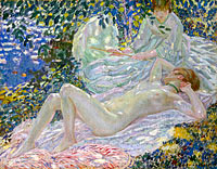 Frederick Carl Frieseke: Summer
