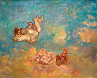 Odilon Redon: The Chariot of Apollo (2)