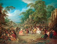 Jean-Baptiste Pater: The Fair at Bezons