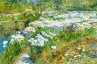 Frederick Childe Hassam: The Water Garden