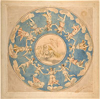 Design for Ceiling: Apollo and the Hours