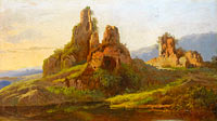 André Giroux: Ruins in the Roman Campagna