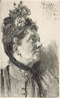 Woman with a Crushed Velvet Hat