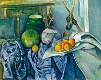 Paul Cézanne: Still Life with a Ginger Jar and Eggplants