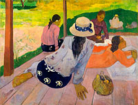 Paul Gauguin: The Siesta