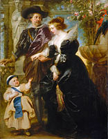 Peter Paul Rubens: Rubens, His Wife Helena Fourment (1614–1673), and Their Son Frans (1633–1678)