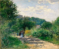 Pierre-Auguste Renoir: A Road in Louveciennes