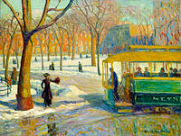 William Glackens: The Green Car