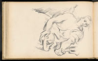 "Study of an Angel in Rubens' ""The Prophet Elijah"""
