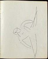Dancers and Performers (Page from a Sketchbook) (8)