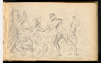"Study for ""The Judgement of Paris"" or ""The Amorous Shepherd"""