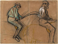 Two Studies of a Jockey