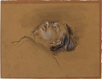 "Head of the Fallen Jockey (study for ""Scene from the Steeplechase: The Fallen Jockey"")"