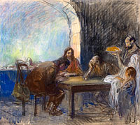 The Supper at Emmaus, possibly c. 1912/1913