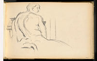 "Study of Puget's ""Hercules Resting"""