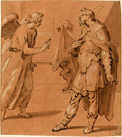 The Angel Appearing to the Centurion Cornelius, late 1590s