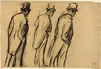 Three Studies of Ludovic Halévy Standing (1)