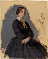 Young Woman in Black