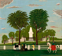 Unknown Painter: Lexington Battle Monument