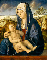 Madonna and Child in a Landscape (2)