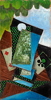 Ace of Clubs and Four of Diamonds