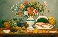 Fruit and Flowers, mid 19th century
