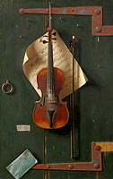 William Michael Harnett: The Old Violin