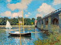 Claude Monet: The Bridge at Argenteuil
