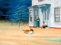 Edward Hopper: Cape Cod Evening
