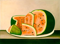 Watermelon on a Plate, mid 19th century